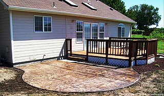 Lana's stamped concrete